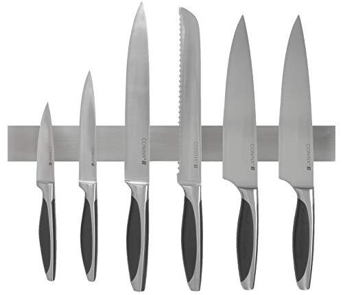 Coninx Messerhalter Holz Magnetisch/Magnetleiste Wandmontage | 40 cm | Für eine organisierte und aufgeräumte Küche | Messer Magnetleiste/Messerleiste
