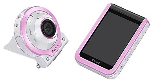 CASIO デジタルカメラ EXILIM EX-FR100LPK カメラ部/モニター部分離 セルフィーが簡単 3つのこだわり自分撮り機能
