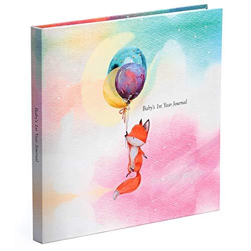 Pillow & Toast Baby Memory Book and Photo Album, Modern Newborn Journal