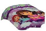 Nickelodeon Dora and Friends Twin Comforter Purple