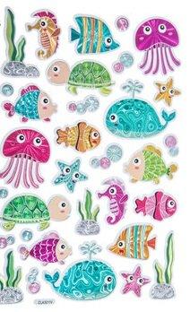 Sea Life Animals Foil Stickers Ocean Animals