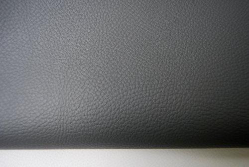 Sitzbankbezug für viele Bikes, dunkel grau fein DG1, Maße 100 x 70 cm mit Montageanleitung