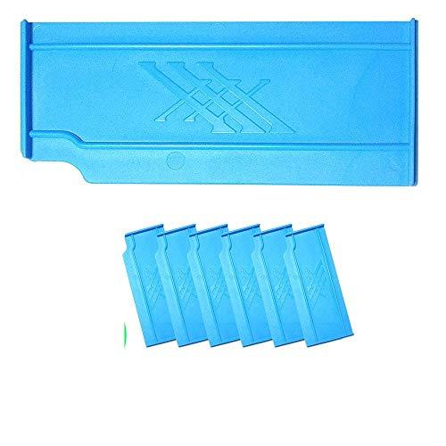 Fishing Evolution - Kit 6 Divisori Blue da Pesca per Top Boxxx Evo|Divisore per Organizzare la Cassetta di Attrezzi - Made in Italy