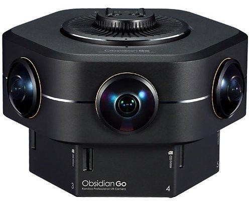 タイトル: Kandao Obsidian GO-世界で最初に交換出来る4 k360°VR& 3 D180°カメラ