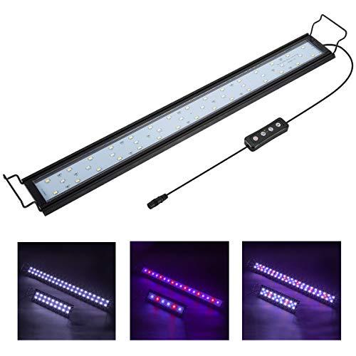 Hygger Aquarium Lighting Lámpara LED para Acuario con Temporizador,...
