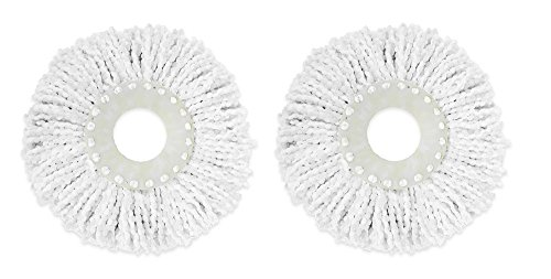 Casabella 85335 Spin Cycle Mop Refill (2 Pack) Made in USA