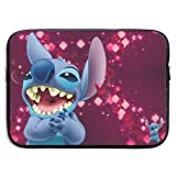 Stitch Laptop Sleeve Bag 15 ″ Estuche para computadora Maletín para Tableta Mensajero portátil Impermeable