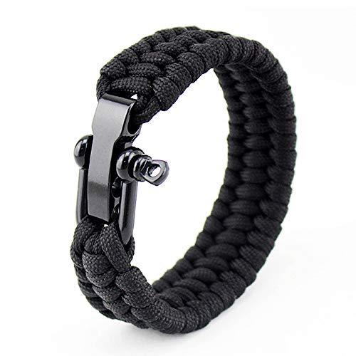 Asuthink Bracelet de Survie, Bracelets pour Homme Bracelet paracorde en...
