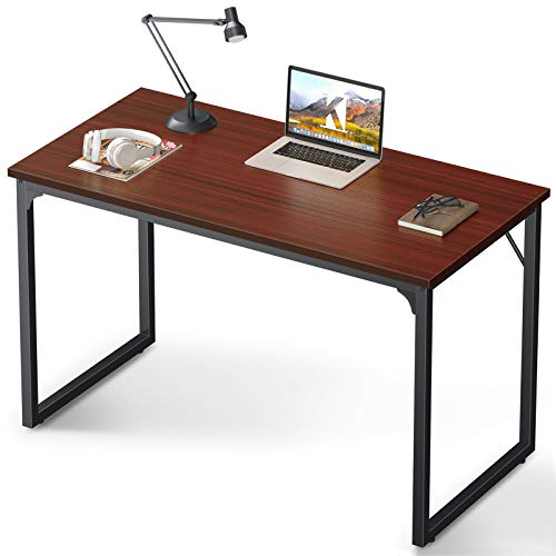 Coleshome Computer Desk 47', Modern Simple Style Desk for Home Office,...