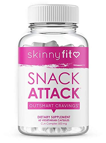 SkinnyFit Snack Attack Natural Metabolism Booster, Healthy Weight, Natural Energy and Help Curb Cravings (60 Vegan Capsules) 5