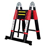 BEETRO 16.5ft Aluminum Telescoping Ladder, A Type Portable Telescopic...