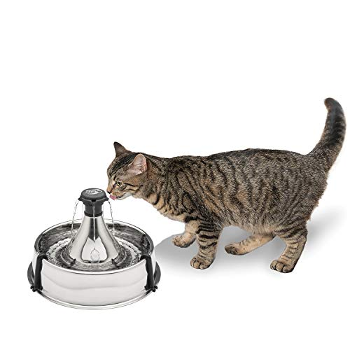 PetSafe Drinkwell Stainless 360 Multi-Pet Fountain...