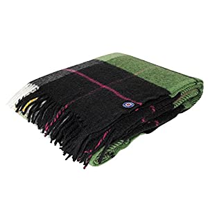✅ SUPER SOFT ►The Luxurious Blanket Super Soft and Breathable Providing Extra Comfort and a Premium Outlook; it is Wrinkle Resistant and Anti-fade for Long Term Use. ✅ WINTER BLANKET ► This pure wool Blanket Keeps You Warm it's Perfect to Use Near th...
