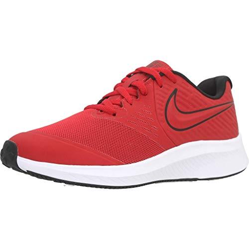 Nike Star Runner 2, Zapatillas de Trail Running Unisex Adulto, Rojo (University Red/Black/Volt 600), 37.5 EU