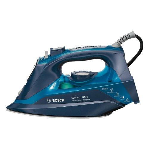 Bosch TDA703021A Ferro a vapore Piastra Ceranium Glisse 3000W Blu ferro da stiro