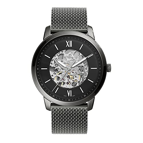 Fossil Neutra Automatic Analog Black Dial Men's Watch-ME3185