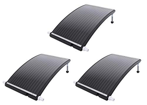 well2wellness 3 x Pool Solarheizung Poolheizung Solar \'Exclusiv\' (023921)