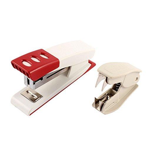 Plastica Papers pinzatura Shell cucitrice Levapunti Rosso Bianco Beige