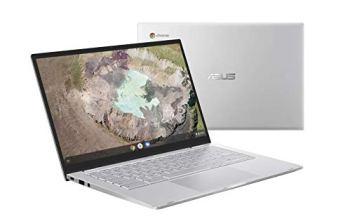 "Asus Chromebook C425TA-H50013 PC Portable 14"" FHD (Intel Core m3-8100Y, RAM 8Go, 64Go EMMC, Chrome OS) Clavier AZERTY Français"