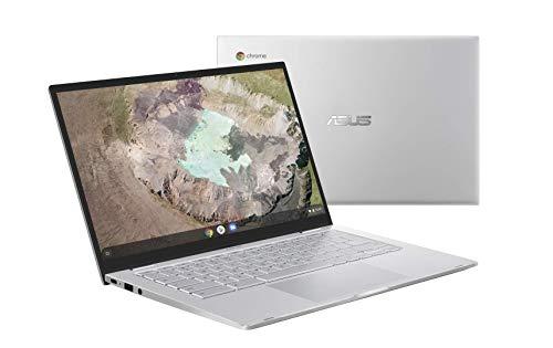 Asus Chromebook C425TAH50013 PC Portable 14' FHD (Intel Core m38100Y, RAM 8Go, 64Go EMMC, Chrome OS) Clavier AZERTY Français
