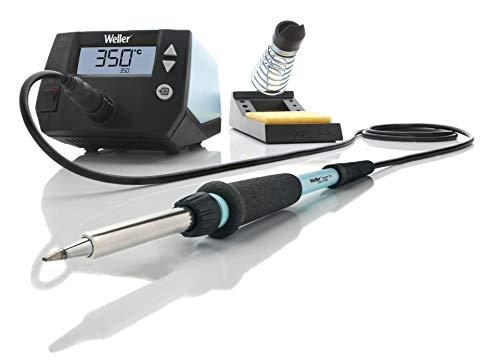 Weller Professional  WE 1010 (T0053298399) 70 W/230 V Digital 1-Kanal-Lötstation, Temperaturbereich 100°C – 450°C, Blau