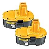DEWALT 18V Battery, XRP, Combo Pack...