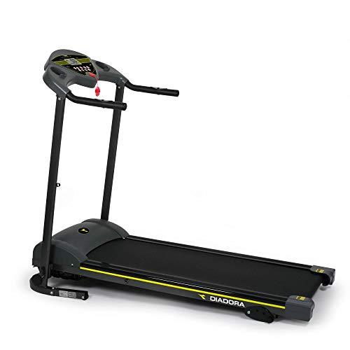 Diadora Fitness Star 1000, Tapis Roulant Unisex Adulto, Nero, 9 Programmi di Allenamento