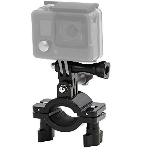 EXSHOW Supporto Bici per GoPro, 360 Rotazione Moto Bicicletta Motocicletta Manubrio Fotocamera Mount per GoPro Hero 9 8 7 6 5 4 3 Canon, Sony e altre Action Camera