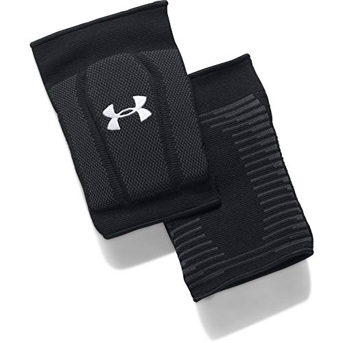 Under Armour 2.0 Volleyball Knee Pad Black (001)/White Large