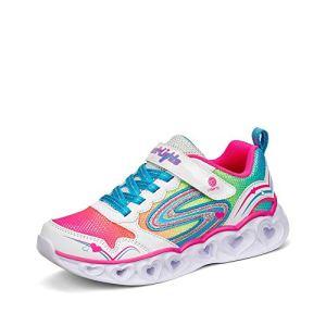 Skechers Kids Baby Girl's Heart Lights 20294N (Toddler)