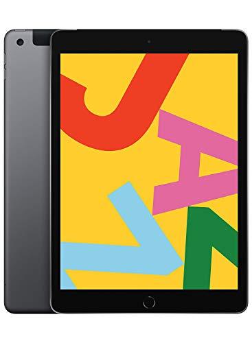 Nouvel Apple iPad (10,2 Pouces, Wi-FI + Cellular, 128Go) - Gris Sidéral