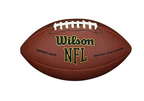 Wilson NFL Super Grip Fußball, braun, Official