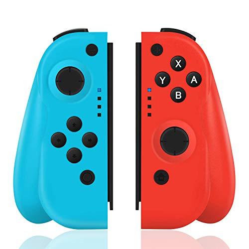 TUTUO Wireless Controller per Nintendo Switch, Bluetooth Joystick Gamepad Sostituzione per Joy con...