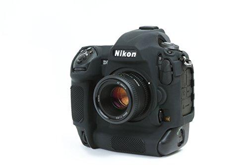 DISCOVERED イージーカバー ニコンD5 用 カメラカバー ブラック 液晶保護フィルム付き