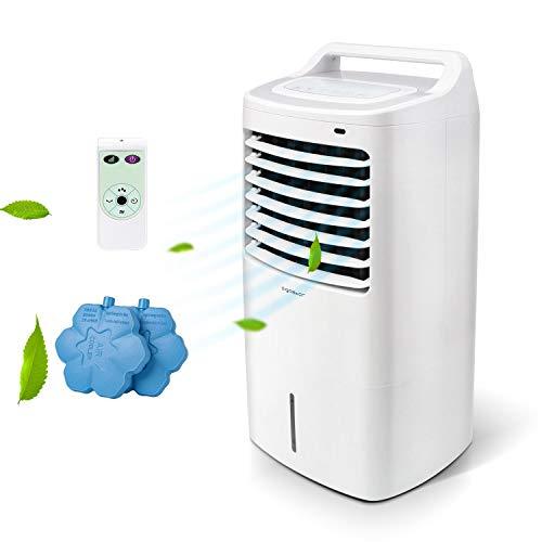 Aigostar 33JTJ - Raffrescatore, Refrigeratore d'aria. 60W, 3 modalità selezionabile con...