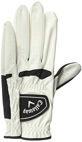 Callaway Xtreme 365 Golf Glove (2 Pack) Mens LH White/Black Small Mens LH White/Black Small