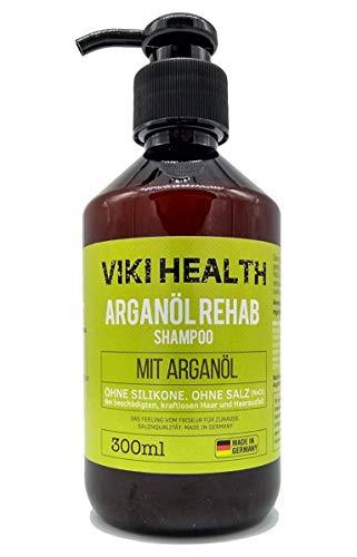 VIKI HEALTH Arganöl Shampoo - ohne Silikone, Salze und Parabene - bei...