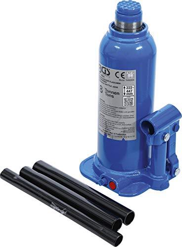 BGS 9884   Hydraulischer Flaschen-Wagenheber   8 t   Stempelwagenheber / Kompakt-Wagenheber