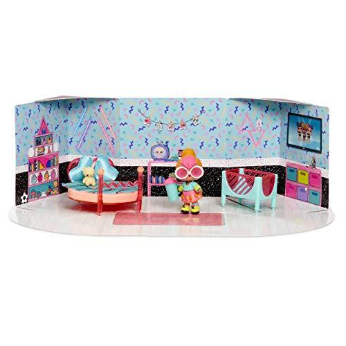 Image 1 - MGA- Meubles L.O.L Chambre à Coucher avec la poupée Neon Q.T. et 10+ Surprises Toy, 561743E7C, Multicolore