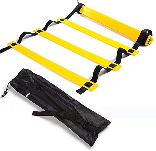 SKL Speed Agility Ladder 6M 12 Rung Training Ladder For Soccer Speed Basketball Football Fitness Feet Training with Carry Bag