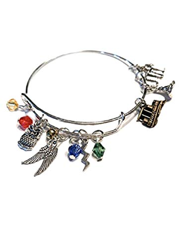 Ivy & Clover HP Horcrux Inspired Hedwig Owl Charm Bangle