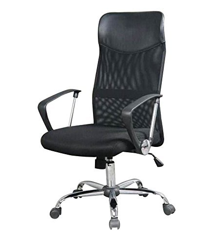 Gilma By Stovekraft Comfy Super DLX Office Chair, Black