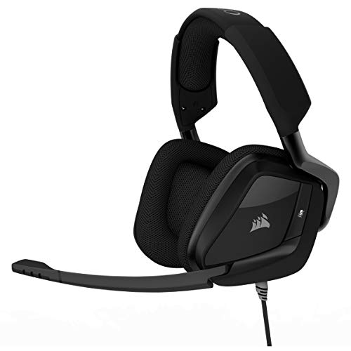 Corsair VOID PRO SURROUND Casque Gaming (PC/PS4/Xbox One, USB 3.5mm, Dolby 7.1) Noir Carbone