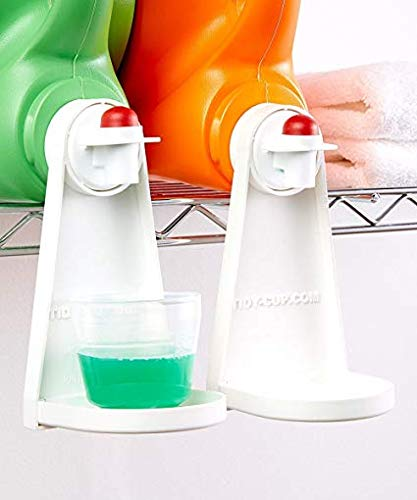 Tidy Cup Laundry Degergant and Fabric Softener Gadget (Pack of 2)
