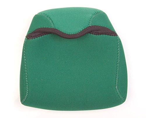 OP/TECH USA Bino Porro Soft Pouch - Padded Binocular Case, Medium (Forest)