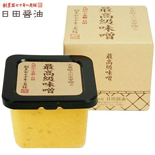 天皇献上の栄誉を賜る 日田醤油の最高級味噌 580g