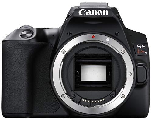 Canon キヤノン デジタル一眼レフカメラ EOS Kiss X10ブラック(W) EOSKISSX10BK-A