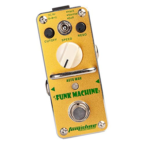 H HILABEE Yellow AFK-3 Funk Machine Auto Wah Effector True Bypass For Effect Pedals