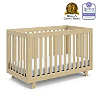 Convertible design: The Stork Craft Beckett fixed side convertible Crib converts easily from crib to toddler bed/day bed & even full bed! This versatile crib will provide your child with a comfortable place to sleep from infancy through adolescence. ...