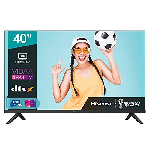 Hisense 40AE5500F - Smart TV, Resolución Full HD, Natural Color...